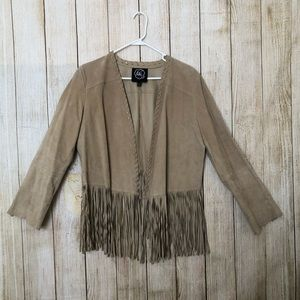 CHI by Falchi   Leather   Suede   Fringe J…